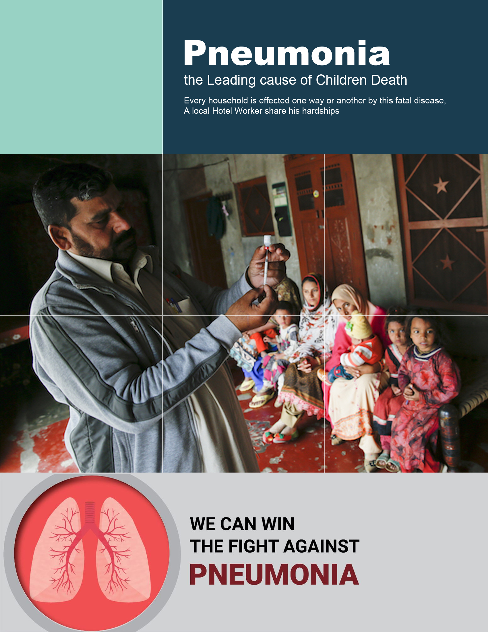 Pneumonia, the Leading cause of Children Death